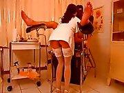 Hot Nurse Torturing Guys Cock