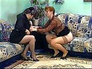 Mature brunette babe licks her friends wet pussy