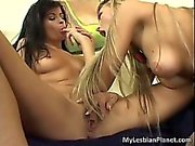 Sexy brunette hoe has great fun