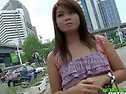 Dirty Thai Tukta rammed after she fingers his butt