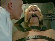Bondage whores hard rammed