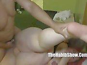 she cant handle redzilla 12 inch BBC sbbw lover takes it all