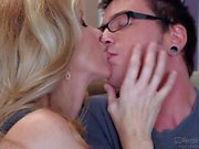 MILF temptress Julia Ann seduces a nerd