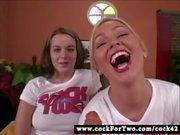 Cock For Two - Natasha Nice vs Abbey Brooks