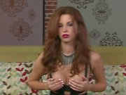 Sabrina Maree displays her Big breasts