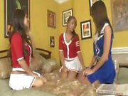 Layla rose cheerleader threesome