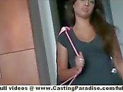 Jynx Maze amateur latina brunette with natural tits does blowjob