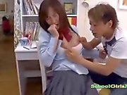 Schoolgirl Getting Her Tits Rubbed Pussy Fingered