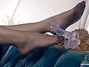 Silvia Saint in stockings