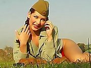 Smokin' Hot Soviet Babe