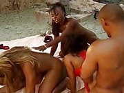 Black Beach Party