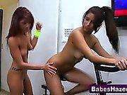 Real teen lesbians lick