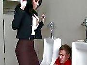 Amazing restroom fuck with Mason Moore