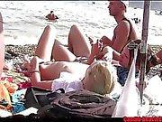 Nudist Horny Milfs Tanning naked Beach Voyeur HD Video Spy