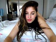 Hot Brunette Andie Valentino Likes to Masturbate