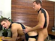 Young tanned brown hair gay porn Jason's hard rod and flappi