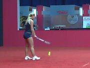 Dominika Cibulkova sexy practice