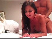 Huge boobs amateur girlfriend anal fucked in doggystyle
