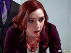 Prick punishment for hot secretary Ember Stone