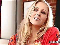 Sexy Milf Julia Ann is a Stocking Slut!