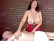 Busty milf cock treatment