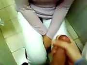 Amateur Blowjob In Public Toilet