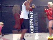Incredibly sexy boxers Molly Cavalli and Jana Cova