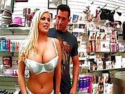 Shylas big tits bouncing on cock
