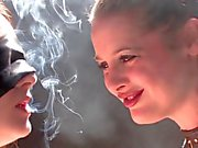 smoking girls dom