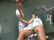 Naughty nurse suck and fuck fun