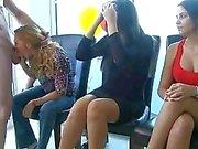 Drunk girls sucking the cocks