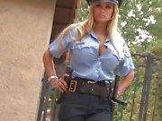Cock loving cop Shyla commits a felony