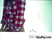 Spy Cam In The Bathroom Watching