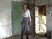 Adulterous english mature lady sonia displays her massive ti