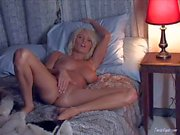 Busty Hanna Hilton masturbates before she falls asleep