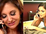 Brunette Lesbians Ariana Marie And Ava Addams