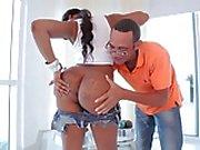 Hot & Sexy Ebony Big Booty Gets Fucked by Black Cock