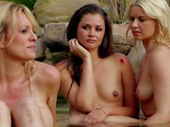 Allie Haze and friends