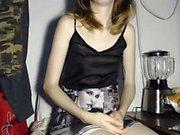 Busty blonde Abbey Brooks having a horny solo masturbation