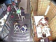 Spycam Massage Sex in Beach Club 3