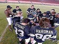 Gangbang in Los Angeles Memorial Coliseum field