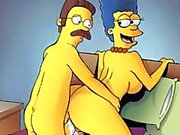 Sexy cartoon characters, mothers, housewives and their cuckolds make porn clips
