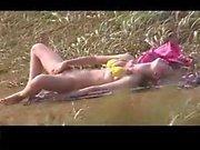 Bikini Babes Outdoor Masturbation 04