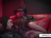 Jessica Jaymes-Perfect threesome with Jessica Chloe and Tommy