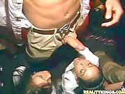 Cock Sucking orgy in the club with Bill Bailey and Lexi Swallow
