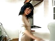Milf and Young Guy Fingered And Licked On The Desk In The Kitchen