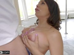 BANG Gonzo - Violet Starr takes fat dick deep in her pussy