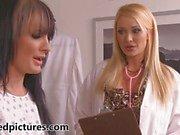 Hot doctor Summer Brielle Taylor seduces Alektra Blue