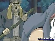 Ghetto hentai coed wetpussy fucked in the forest
