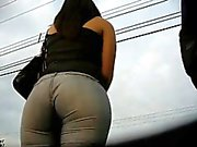 big grat ass wife in the park bus